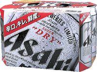 スーパードライ350mlx6缶